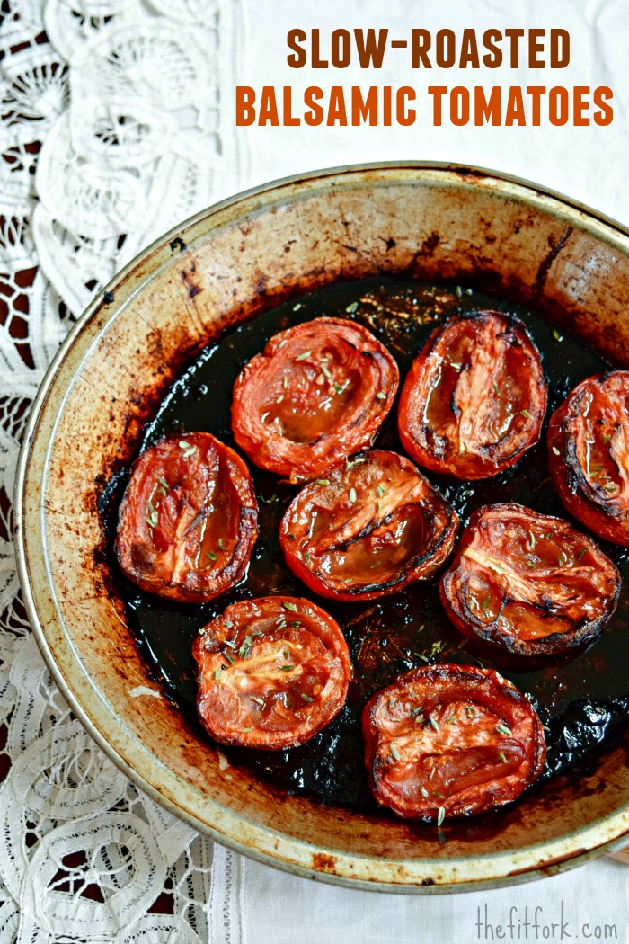 Slow-Roasted-Balsamic-Tomatoes-pan-TheFitFork.com_